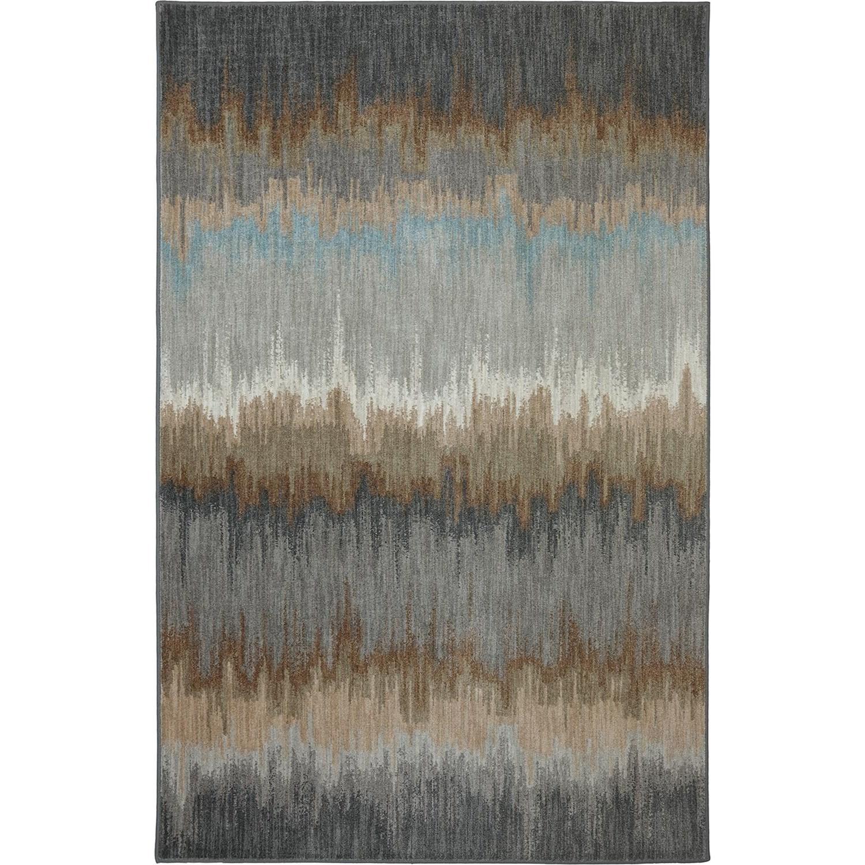 Karastan Rugs Euphoria 5'3x7'10 Cashel Abyss Blue Rug - Item Number: 90261 880 063094