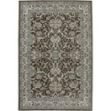 Karastan Rugs Euphoria 3'6x5'6 Newbridge Brown Rug