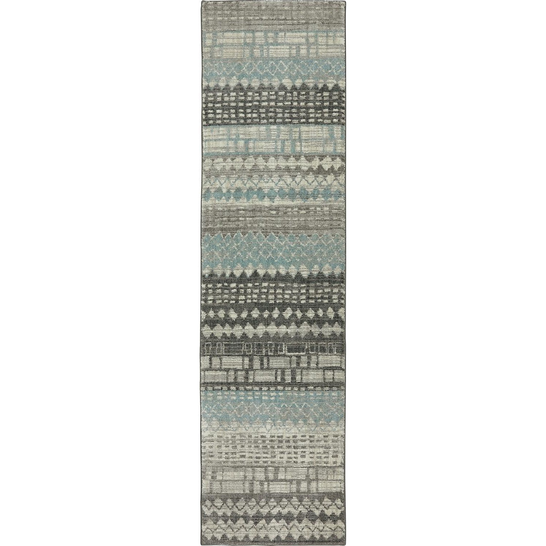 Karastan Rugs Euphoria 2'1x7'10 Eddleston Ash Grey Rug Runner - Item Number: 90263 5913 025094