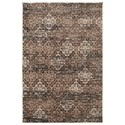 Karastan Rugs Euphoria 5'3x7'10 Wexford Brown Rug - Item Number: 90265 80175 063094