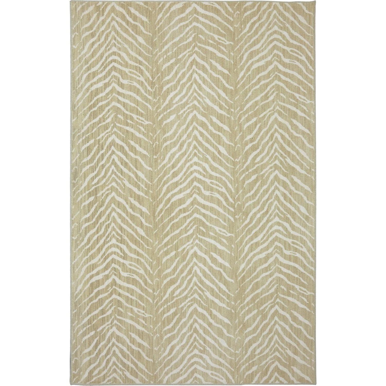 Karastan Rugs Euphoria 5'3x7'10 Aberdeen Sand Rug - Item Number: 90267 249 063094