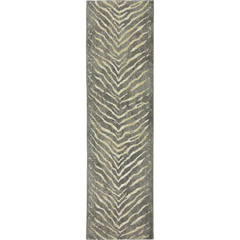 Karastan Rugs Euphoria 2'1x7'10 Aberdeen Granite Rug Runner - Item Number: 90267 80100 025094