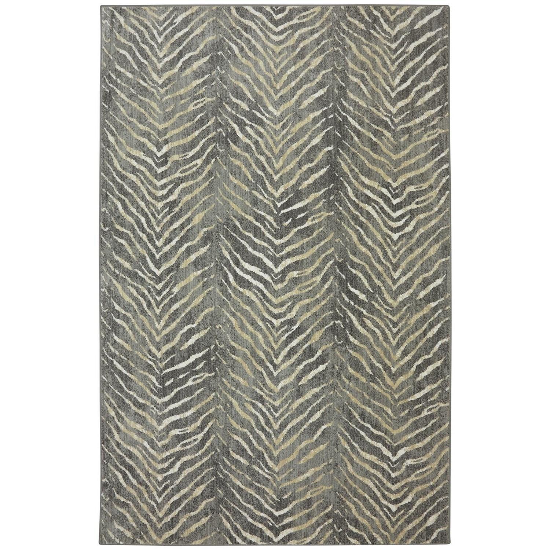 Karastan Rugs Euphoria 3'6x5'6 Aberdeen Granite Rug - Item Number: 90267 80100 042066