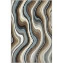 Karastan Rugs Euphoria 3'6x5'6 Larkhall Granite Rug - Item Number: 90269 80100 042066