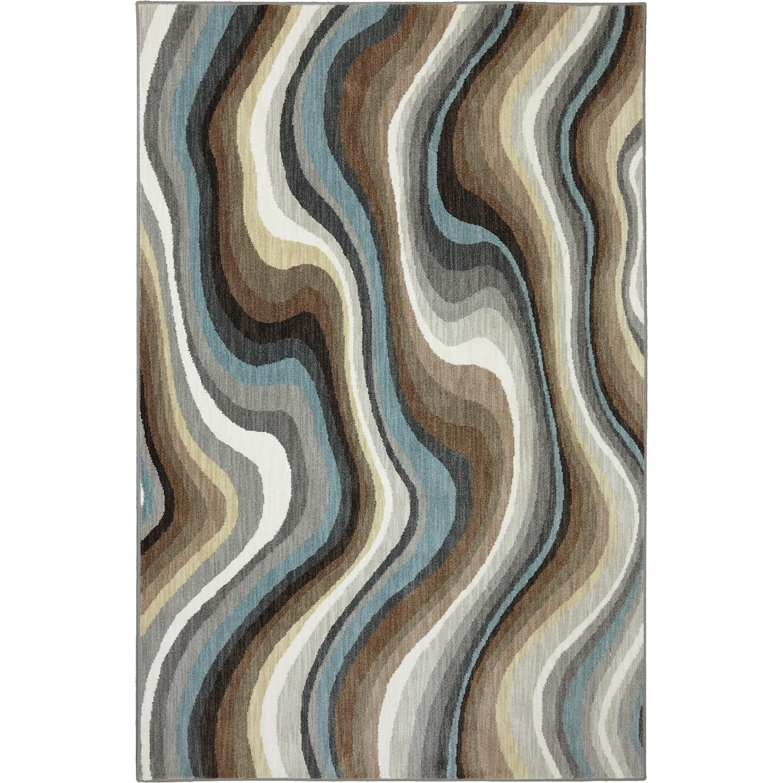 Karastan Rugs Euphoria 8'x11' Larkhall Granite Rug - Item Number: 90269 80100 096132