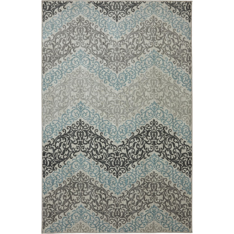 Karastan Rugs Euphoria 3'6x5'6 Irvine Sand Stone Rug - Item Number: 90270 471 042066