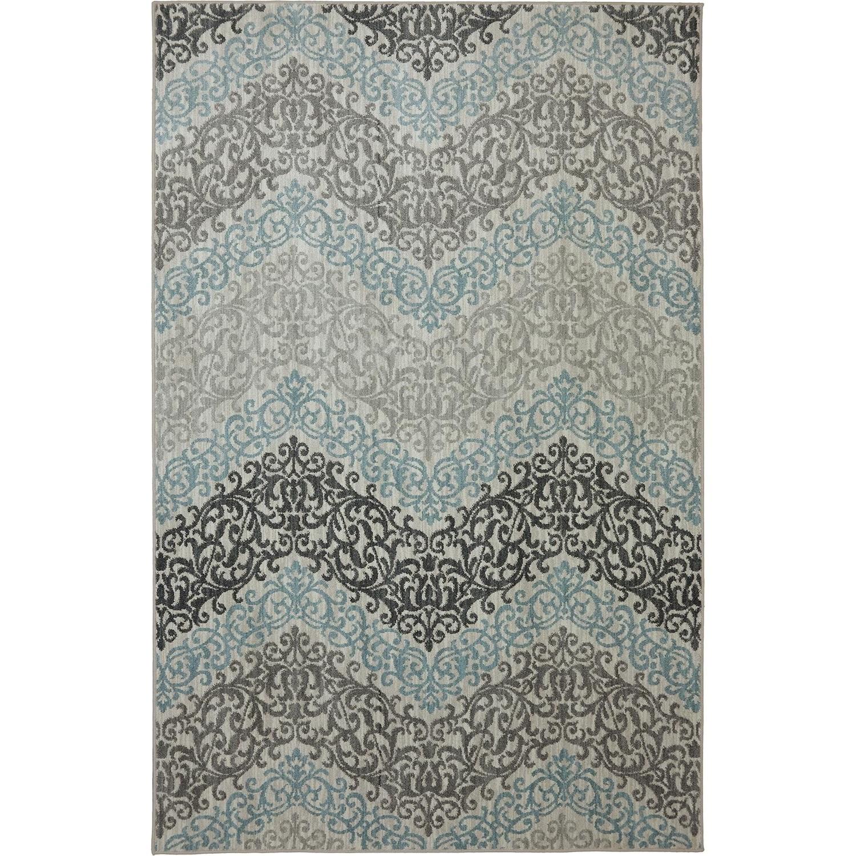 Karastan Rugs Euphoria 5'3x7'10 Irvine Sand Stone Rug - Item Number: 90270 471 063094