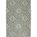 Karastan Rugs Euphoria 2'1x7'10 Findon Bay Blue Rug Runner