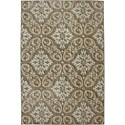 Karastan Rugs Euphoria 8'x11' Findon Brown Rug