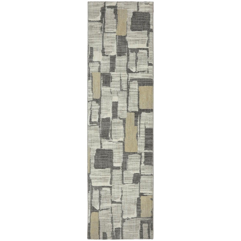 Karastan Rugs Euphoria 2'1x7'10 Limerick Sand Stone Rug Runner - Item Number: 90275 471 025094