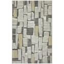 Karastan Rugs Euphoria 3'6x5'6 Limerick Sand Stone Rug - Item Number: 90275 471 042066