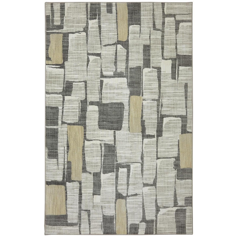 Karastan Rugs Euphoria 5'3x7'10 Limerick Sand Stone Rug - Item Number: 90275 471 063094