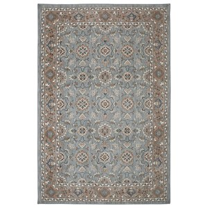 Karastan Rugs Euphoria 3'6x5'6 Leinster Willow Grey Rug