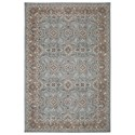 Karastan Rugs Euphoria 5'3x7'10 Leinster Willow Grey Rug - Item Number: 90641 90075 063094