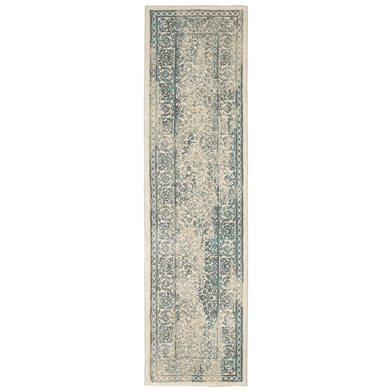 Karastan Rugs Euphoria 2'1x7'10 Ayr Natural Rug Runner - Item Number: 90643 70032 025094
