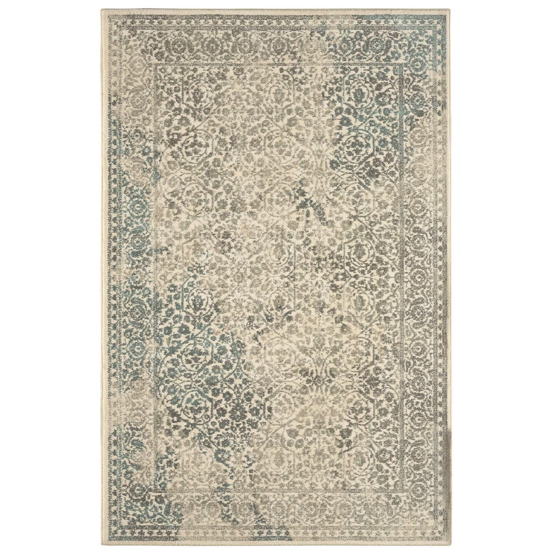 Karastan Rugs Euphoria 5'3x7'10 Ayr Natural Rug - Item Number: 90643 70032 063094