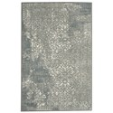 Karastan Rugs Euphoria 2'1x7'10 Ayr Willow Grey Rug Runner