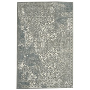 Karastan Rugs Euphoria 9'6x12'11 Ayr Willow Grey Rug