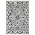 Karastan Rugs Euphoria 8'x11' Kirkwall Willow Grey Rug - Item Number: 90644 90075 096132