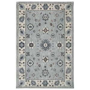 Karastan Rugs Euphoria 9'6x12'11 Kirkwall Willow Grey Rug