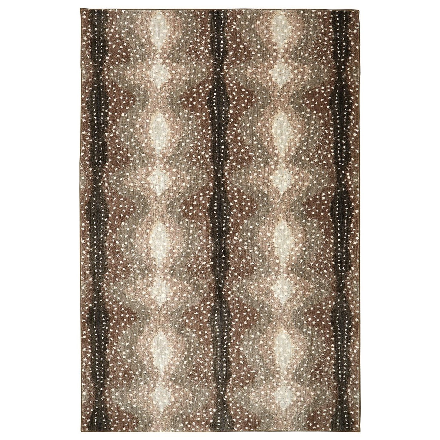 Karastan Rugs Euphoria 9'6x12'11 Forfar Hazelnut Rug - Item Number: 90645 80174 114155