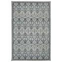 Karastan Rugs Euphoria 8'x11' Castine Willow Grey Rug - Item Number: 90646 90075 096132