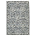 Karastan Rugs Euphoria 9'6x12'11 Galway Willow Grey Rug - Item Number: 90647 90075 114155