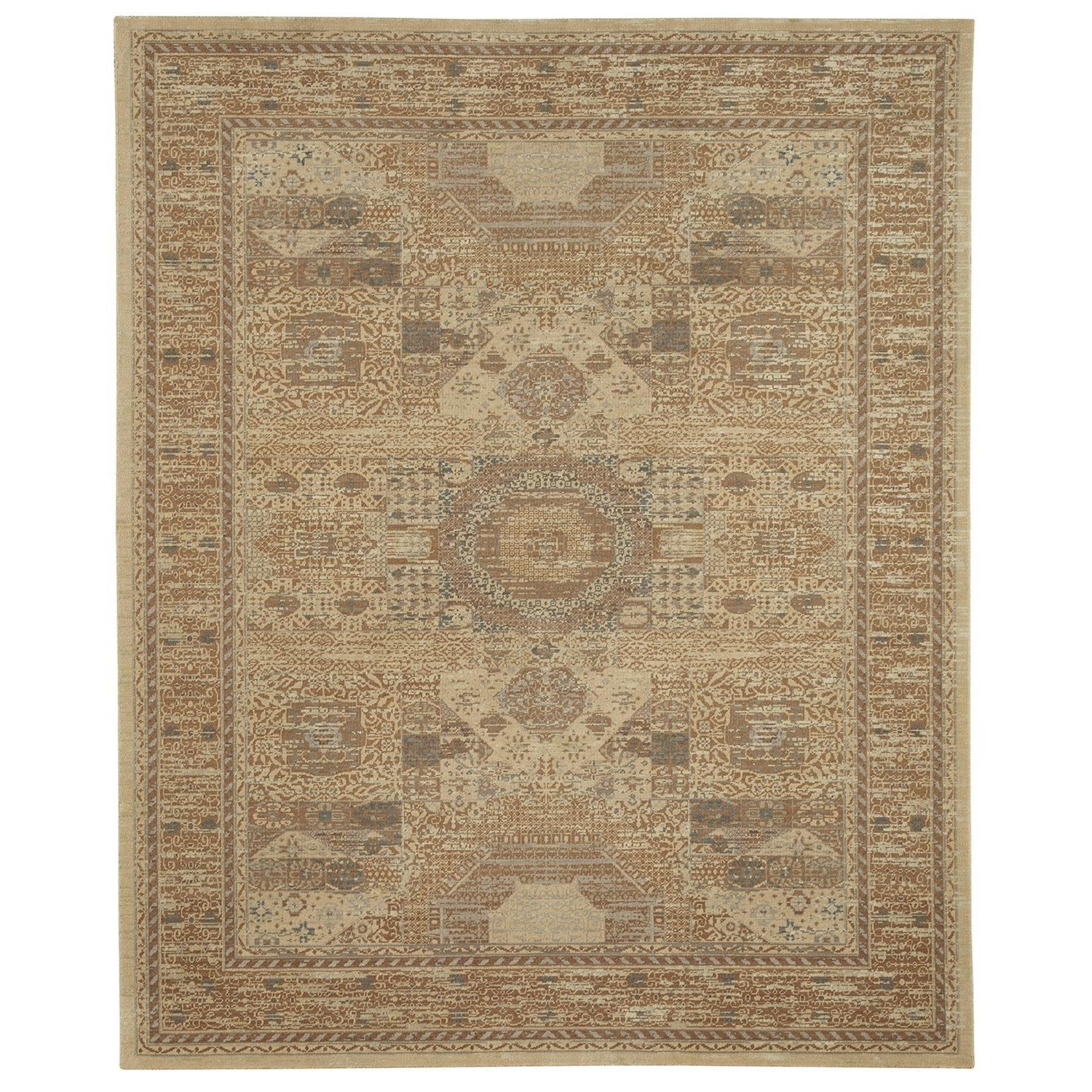 Karastan Rugs Evanescent 8'6x11'6 Baron Light Rug - Item Number: RG818 0014 102138