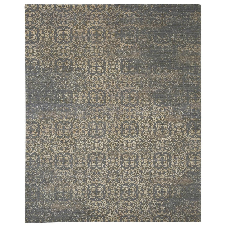 Karastan Rugs Evanescent 7'9x9'9 Nai Slate Rug - Item Number: RG818 0016 093117