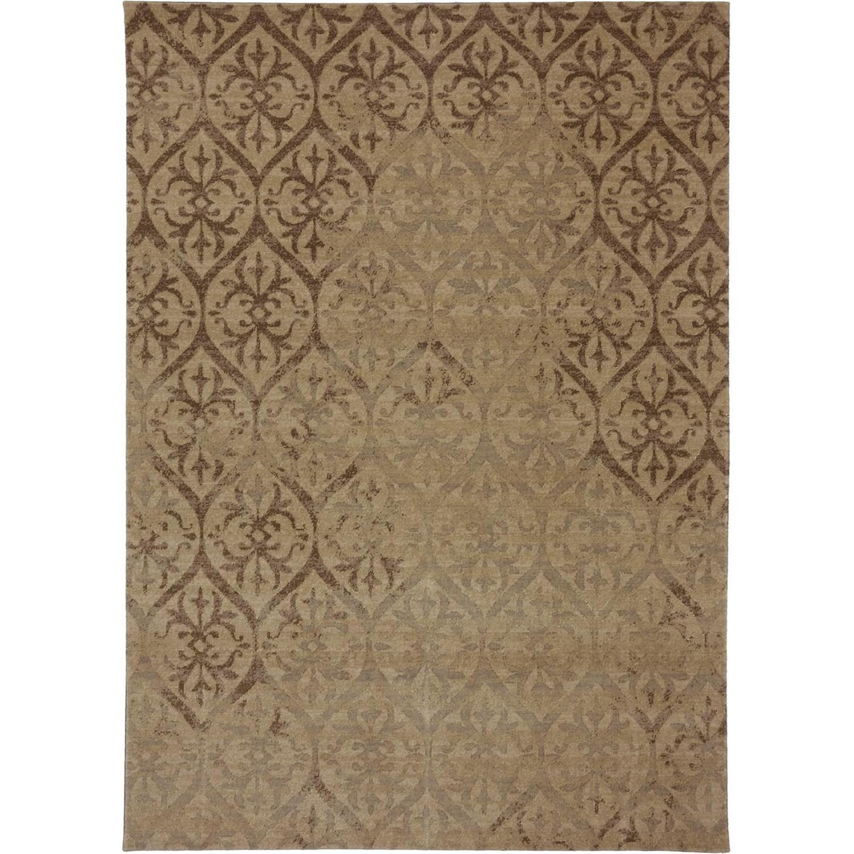 Karastan Rugs Evanescent 9'9x12'8 Modena Camel Rug - Item Number: RG818 273 117152