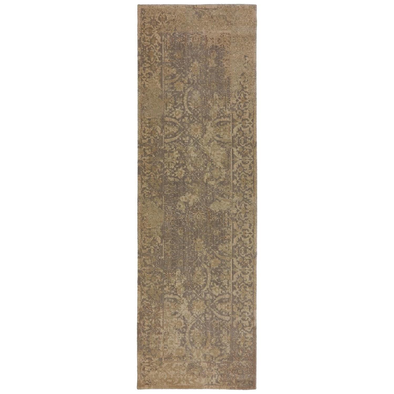 Karastan Rugs Evanescent 2'6x8' Terni Gray Rug Runner - Item Number: RG818 431 030096