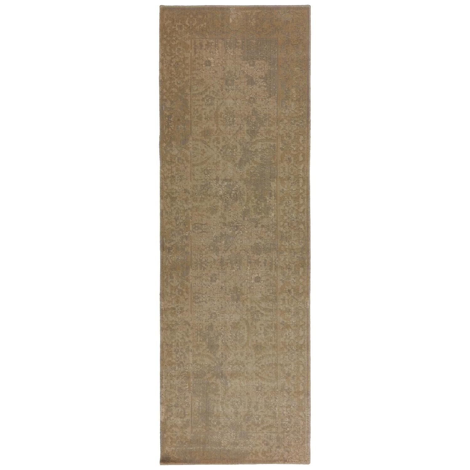 Karastan Rugs Evanescent 2'6x8' Terni Light Rug Runner - Item Number: RG818 443 030096