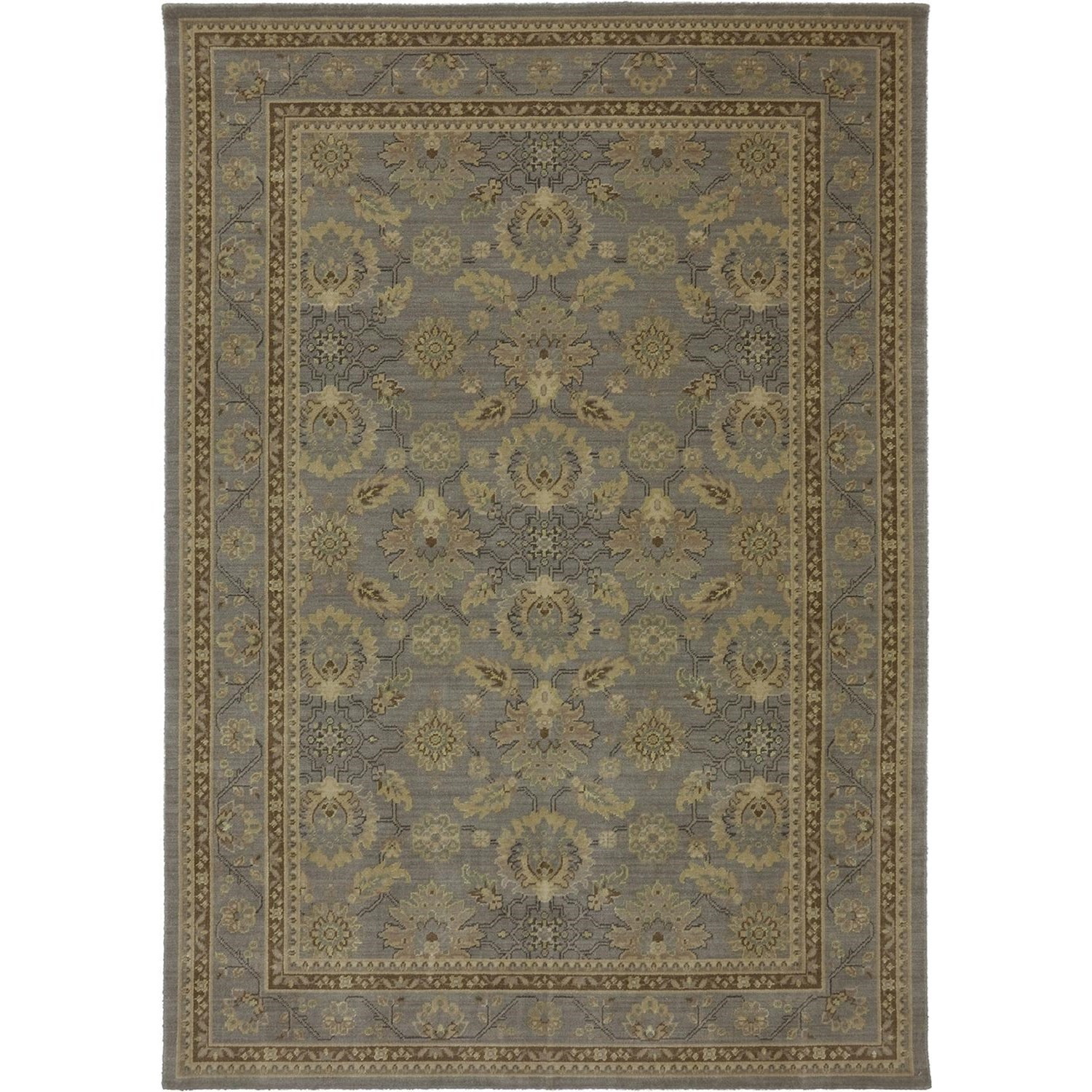 Karastan Rugs Evanescent 9'9x12'8 Pescara Gray Rug - Item Number: RG818 471 117152