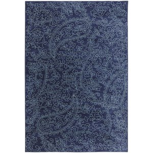 Karastan Rugs Pacifica 9'6x12'11 Kingston Indigo Rug