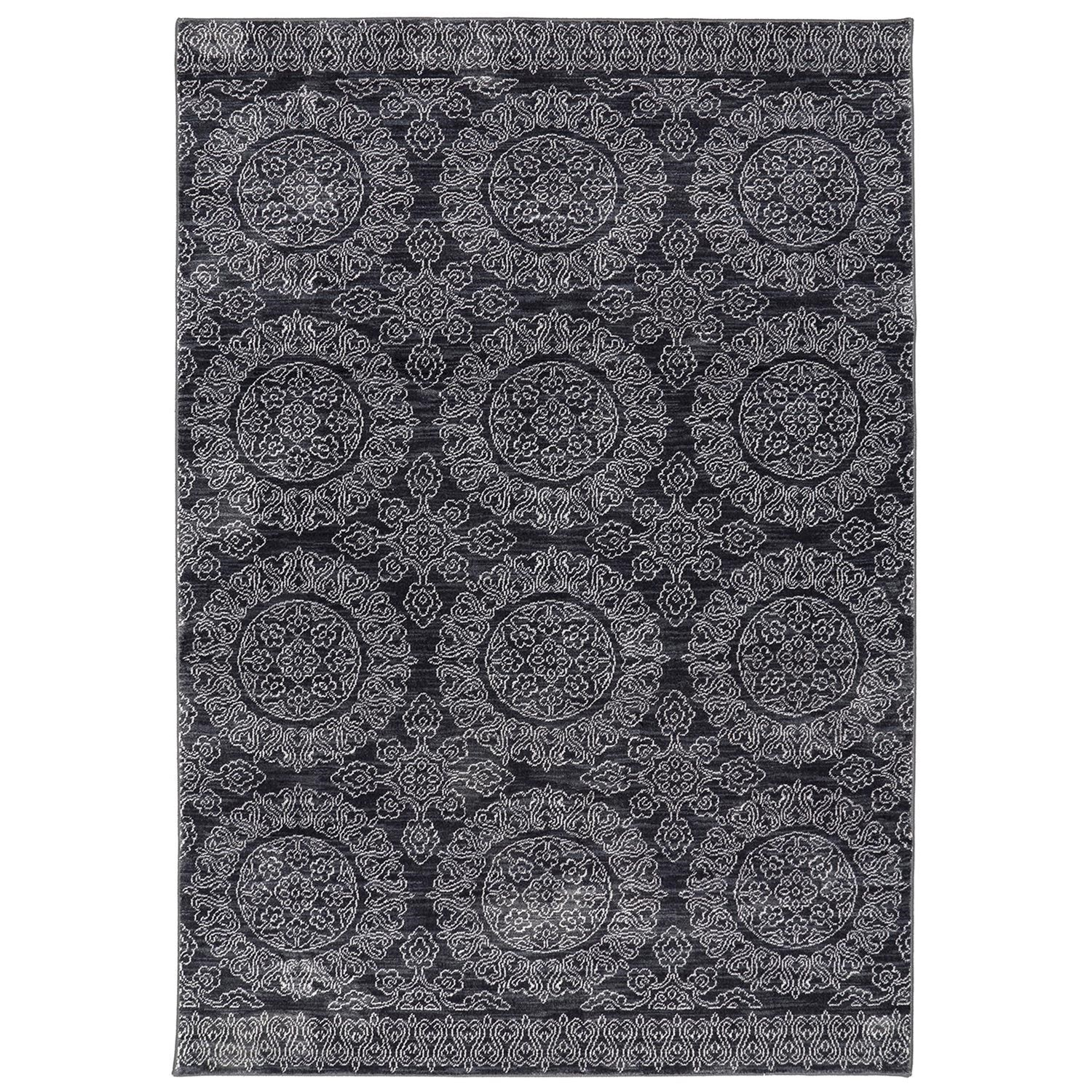 Pacifica 96x1211 Leawood Black Rug Rotmans Worcester Boston