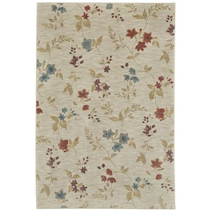 Karastan Rugs Pacifica 9'6x12'11 Sterling Multi Rug