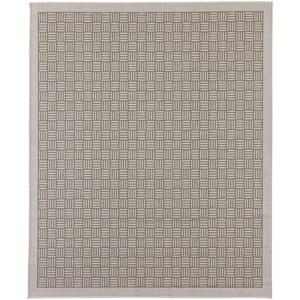 Karastan Rugs Portico 5'x8' Rectangle Ribbed Solid Area Rug