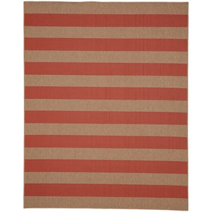 Karastan Rugs Portico 5'x8' Rectangle Striped Area Rug