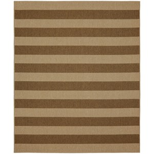 Karastan Rugs Portico 9'x12' Rectangle Striped Area Rug
