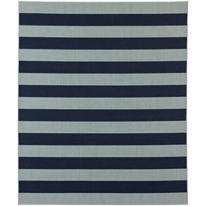 Karastan Rugs Portico 8'x10' Rectangle Striped Area Rug