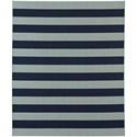 Karastan Rugs Portico 8'x10' Rectangle Striped Area Rug - Item Number: 91020 2034 096120