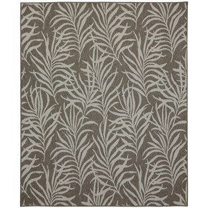 Karastan Rugs Portico 8'x10' Rectangle Floral Area Rug
