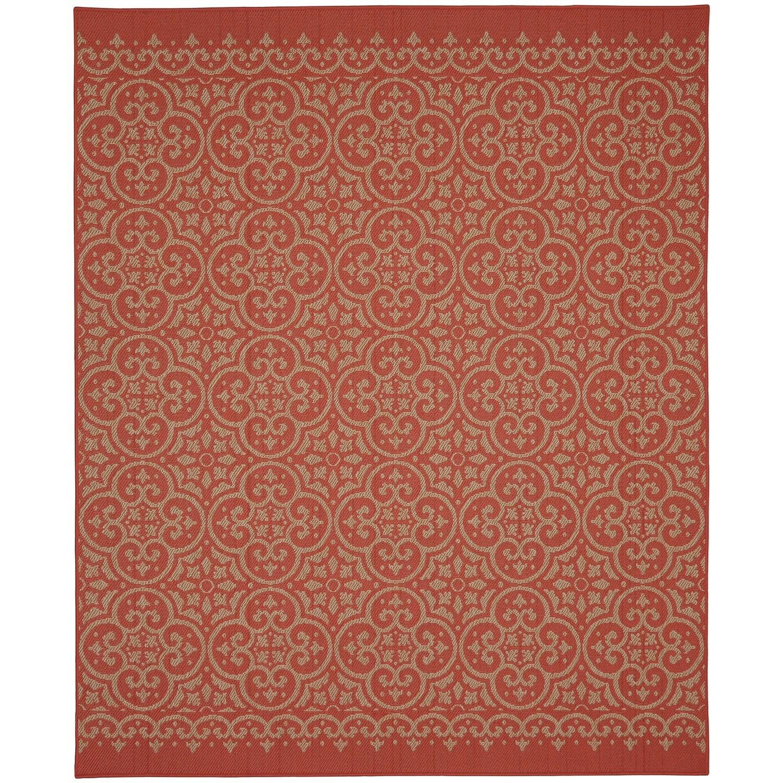 Karastan Rugs Portico 9'x12' Rectangle Ornamental Area Rug - Item Number: 91022 1097 108144