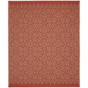 Karastan Rugs Portico 9'x12' Rectangle Ornamental Area Rug - Item Number: 91022 1097 108144