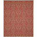 Karastan Rugs Portico 9'x12' Rectangle Ornamental Area Rug - Item Number: 91023 1097 108144