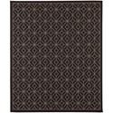 Karastan Rugs Portico 8'x10' Rectangle Geometric Area Rug - Item Number: 91024 2033 096120