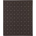 Karastan Rugs Portico 9'x12' Rectangle Geometric Area Rug - Item Number: 91024 2033 108144