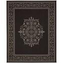 Karastan Rugs Portico 9'x12' Rectangle Ornamental Area Rug - Item Number: 91025 2033 108144