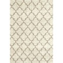 Karastan Rugs Prima Shag 7'11x10'10 Temara Lattice Camel Rug - Item Number: RG951 6013 095130