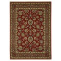 Karastan Rugs Sovereign 10'x14' Sultana Red Rug - Item Number: 00990 14606 120168